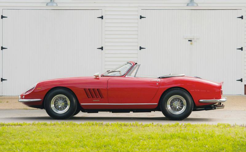$25 MILLION DOLLARS - 1967 Ferrari 275 GTB/4*S N.A.R.T. Spider
