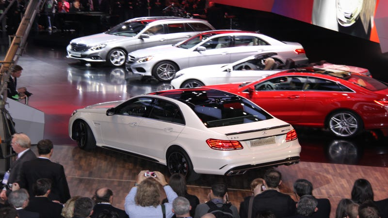 2014 Mercedes-Benz E-Class And CLS AMG: Hot Rods For German Plutocrats
