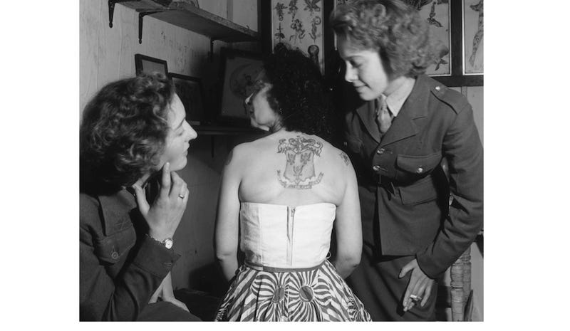 World War II's Badass Female Tattoo Artist