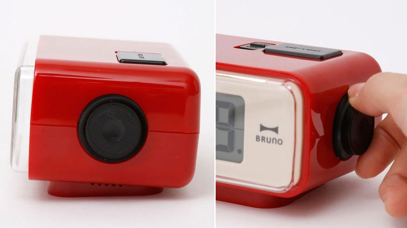 A Modern Digital Alarm Clock With Retro Flip Stylings