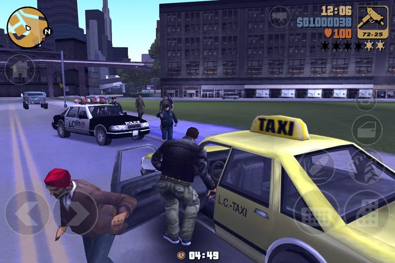 The New Portable GTA III Has the Entire Original Soundtrack, Rockstar Says