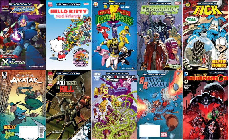 Remember, It's Free Comic Book Day 2014