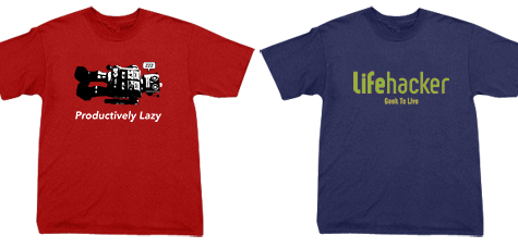 Lifehacker t-shirts update: bigger sizes + discount!