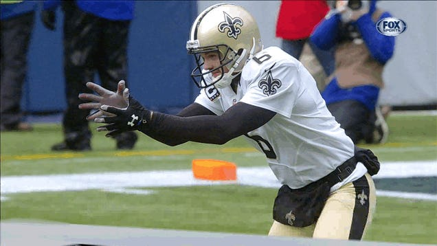 Yes, Thomas Morstead Shanked The Punt