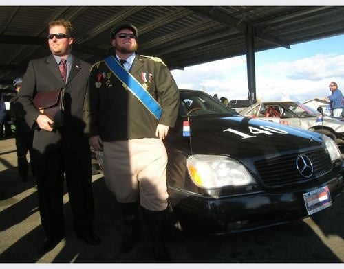 Mercedes-Benz 600S At 24 Hours Of LeMons Thunderhill