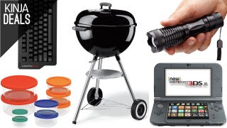 Today's Best Deals: Summer Grilling, Fresh Leftovers, New 3DS XL