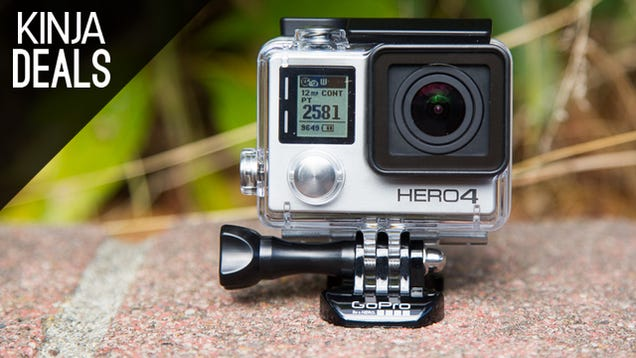 The Best GoPro On Sale, Cheaper iPads, Das Keyboards, and More Deals