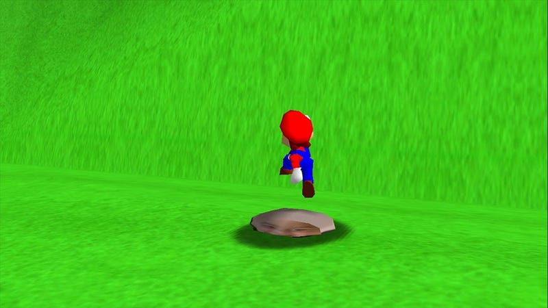 Hacked Mario 64 Lets Boy Smash His Own Face In