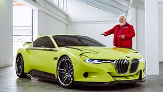 Not sure how to feel about the BMW CSL Hommage...