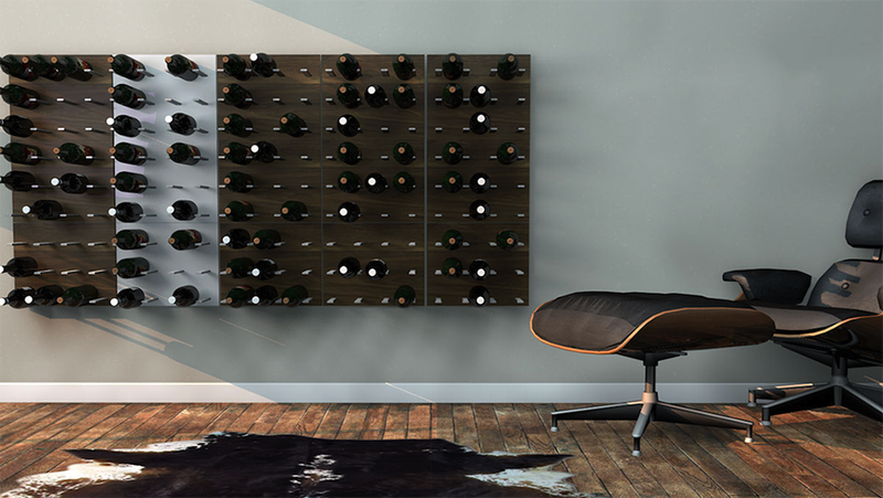 This Modular Wine Wall Is Good Even When the Booze Is Bad