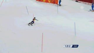 How 18-Year-Old Mikaela Shiffrin Kept Her Nerve And Won Slalom Gold