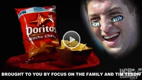 What Would Happen If Tim Tebow Partnered With Doritos?