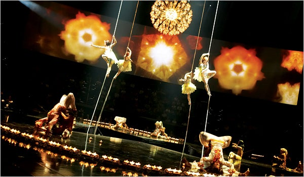 Cirque Performance a Pitch Not Just for Natal, but Games