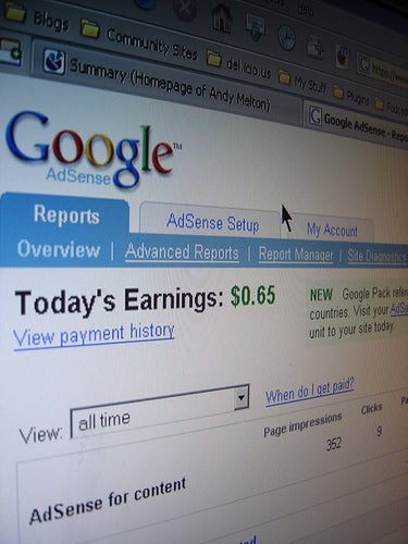 Earning $1.30 Per Day From Adsense Is Enough To Lose Unemployment Benefits