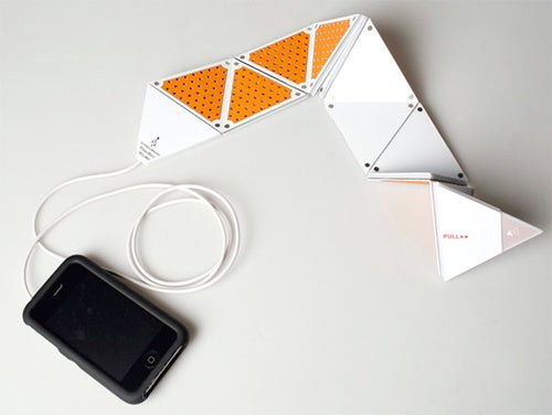 Fold this iPhone Speaker Out to Increase the Volume