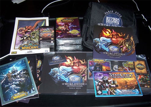 Epic Blizzard Swag Get!