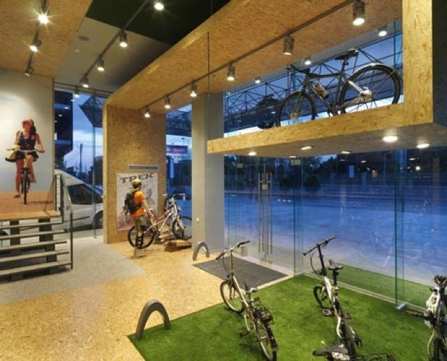 This Athens Bike Shops Looks Unfinished On Purpose