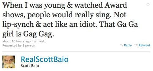 Scott Baio's Opinions Continue To Suck