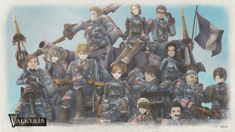 The Sexy, Scribbly Art of Valkyria Chronicles