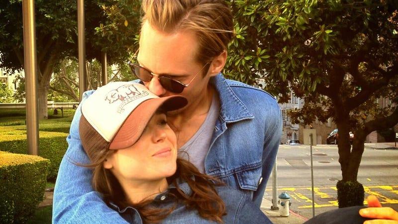 Are Ellen Page and Alexander Skarsgard Secretly Dating?
