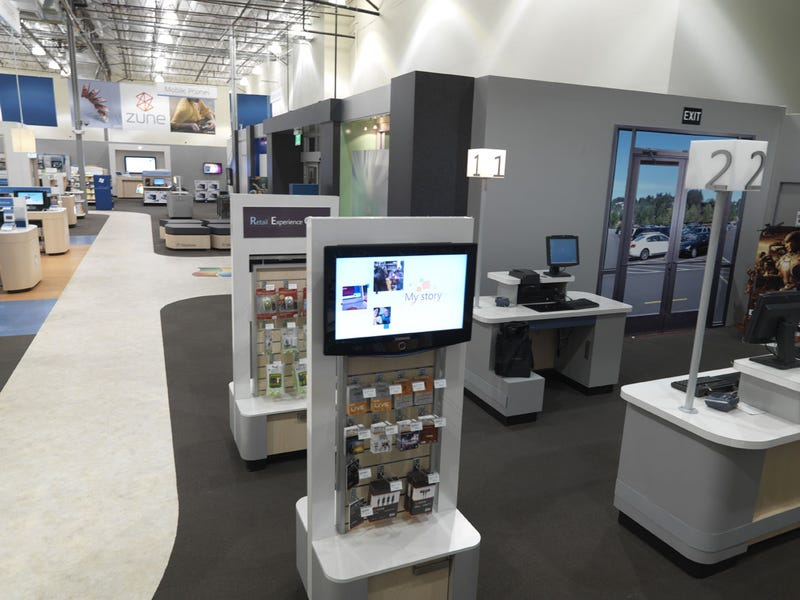 Take A Tour Of Microsoft's Fake Retail Store