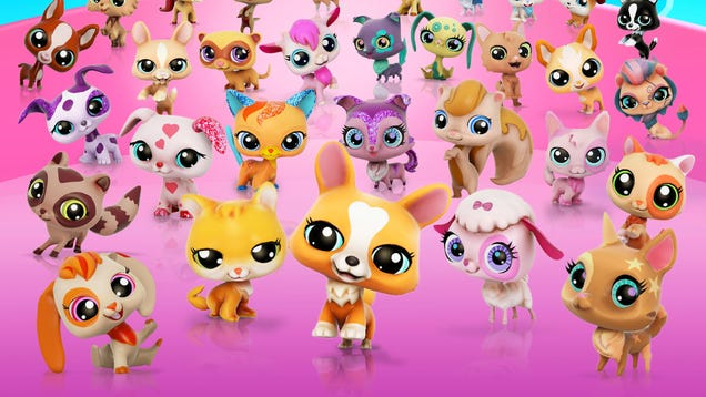 Try Littlest Pet Shop