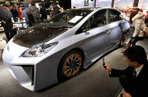 A Toyota Prius With Lamborghini Styling Provides Sad Glimpse At Future