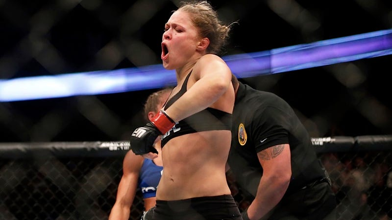 Ronda Rousey Won Her UFC Debut in Grand, Arm-Twisting Fashion