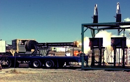 US Army Rail Gun Fires for the First Time