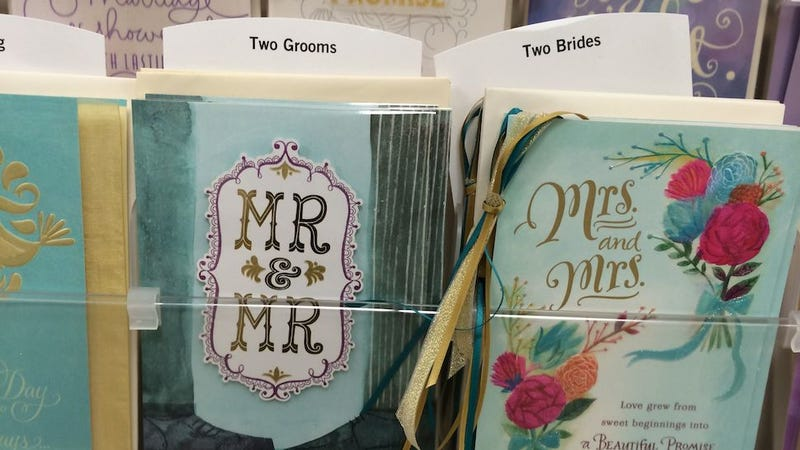 Hallmark Accidentally Stocked BYU Bookstore with Gay Marriage Cards