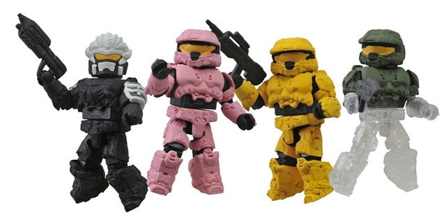 Get Your Series Five Halo Minimates Before They Disappear Completely