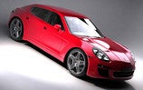 Porsche Panamera Sedan Teased, Tuned By Roock