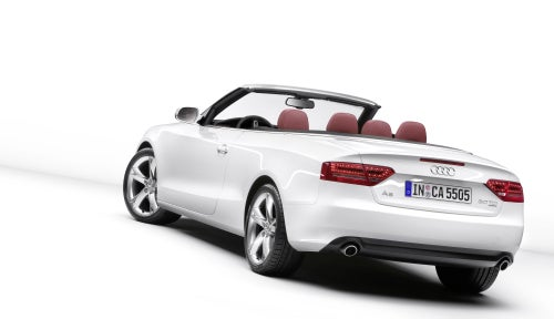 2009 Audi A5 Convertible Pictures Leak Out Ahead Of Official Unveil