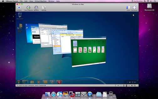 VMWare Fusion 3 Fuses Snow Leopard and Windows 7 With Full 64-Bit Power