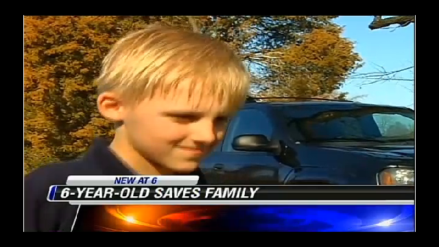 Late-Night Gamer, 6, Saves Family From Attic Fire
