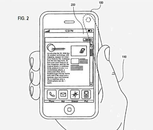 Patent Points to Camera-Based Swipe Controls For iPhone