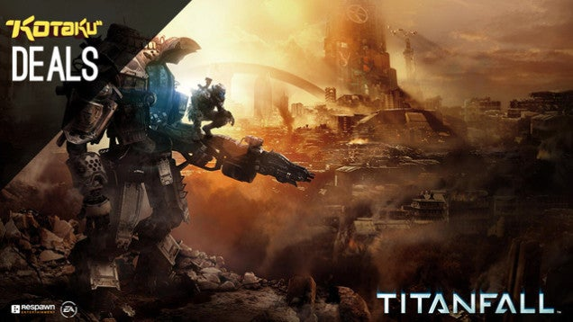 Gaming Gold Box Deals All Day, Starting With Titanfall for $37