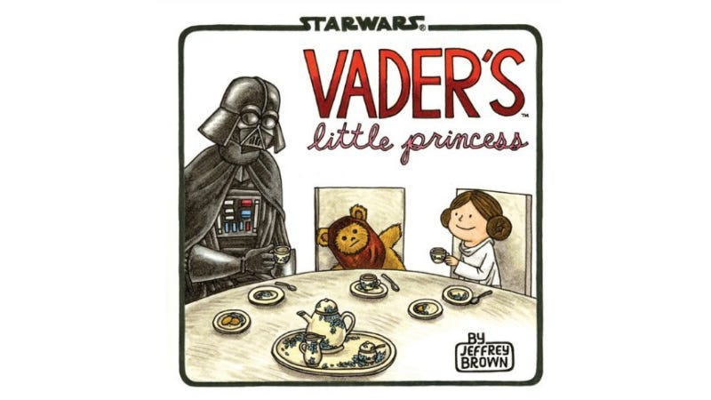 Darth Vader continues to be the best father ever in Jeffrey Brown's Vader's Little Princess