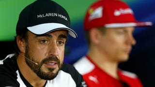 Alonso: The McLaren's Steering Locked Up, And The Wind Story Is Crap