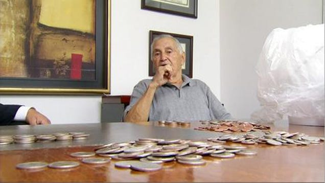 Insurance Company Pays Mans Settlement With $21,000 in Coins