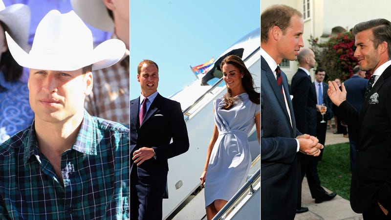 Will and Kate Arrive in Los Angeles and Other Welcomes