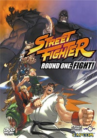Udon Street Fighter Comics Coming To DVD