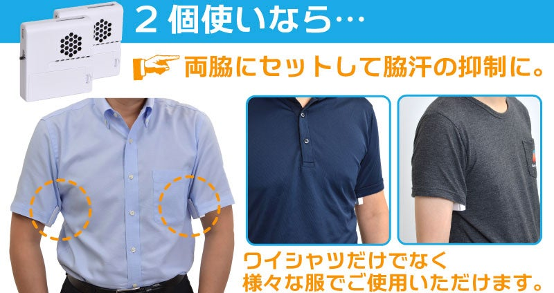 Thanko's Armpit Air Conditioners Are Better Than Any Amazon Prime Day Deal