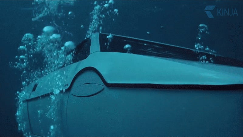 James Bond's submarine-car bought from storage for $100
