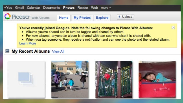 Picasa Now Offering Virtually Unlimited Photo Storage, Brings Google+ Tagging