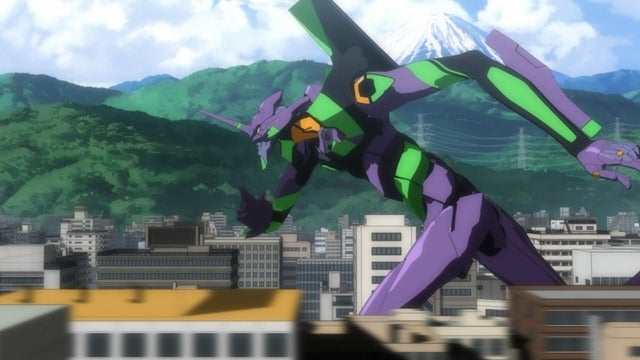 Evangelion 2.0 brings giant robot teen angst to America