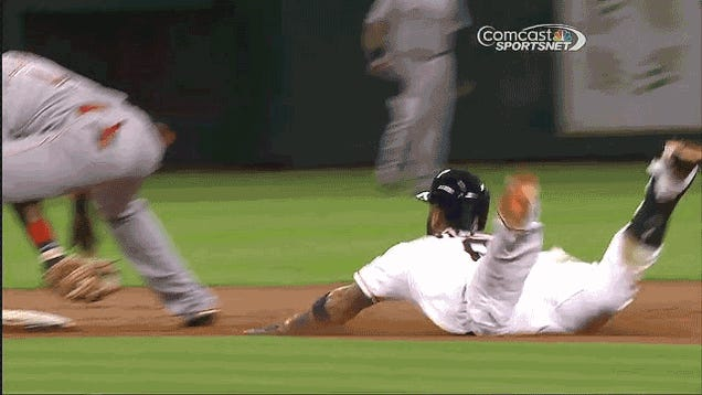 Every Glorious Angle Of The Astros' Buttslide