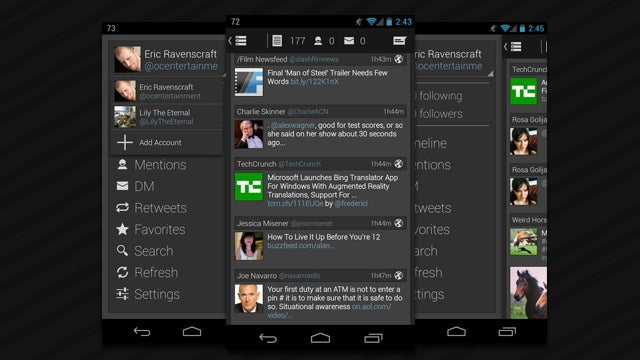 Falcon Pro, Our Favorite Twitter Client, Adds Multi-Account Support