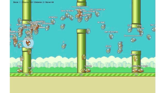 The Flappy Bird MMO Is Mesmerizing