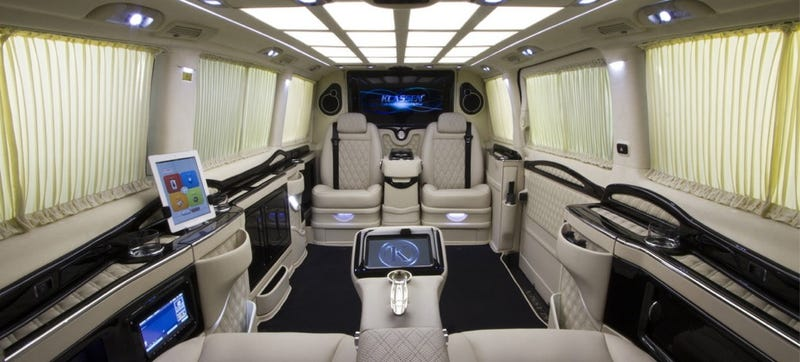 The Klassen Viano Is An Über Lux Mercedes Private Jet For The Road